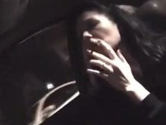 Sandy Yardish Marlboro red after college driving home webcam