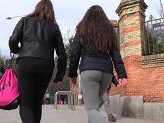 GluteusDivinus - Spanish teen ass in yoga pants