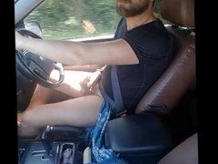 Wanking while I am driving