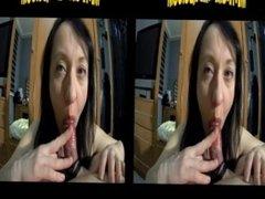 Maya VR femdom handjob with 2 cumshots in a row