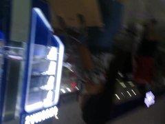 BOSO sa escalator - MICHELLE name niya