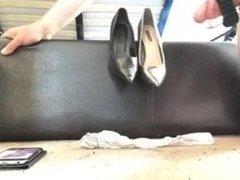 Mother in laws vibrator thongs high heels cumming
