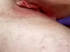 playing with my ftm pussy and asshole