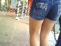 Shortinho torano na magrinha (shorts entering in ass) 212