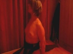 My slut cuckold wife shared with a black guy