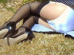 Retro Dress And Stockings 3