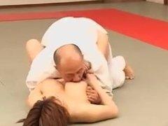 Chinese woman hardcore fight