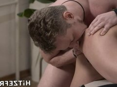 HITZEFREI Stunning blonde milf fucked in the kitchen