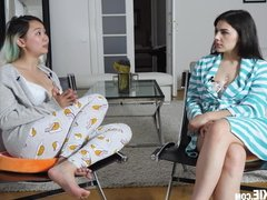 Hot Curvy Valentina Nappi Interview and Sofa Sex