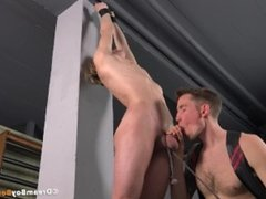 Blonde Twink BDSM Torture DreamBoyBondage Spanking Blowjob Cum Whipping