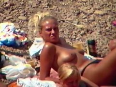 Sophy Topless on Beach