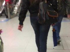 College Girl in Bomber Jacket Pt. 1