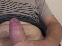 Young dick cum