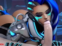 Overwatch heroes getting pussy rammed hard and well