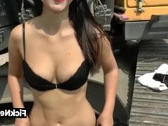 GERMAN YOUNG GIRL SUCKS AND FUCKS AT CONSTRUCTION SITE