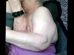 Young cock for fat granny