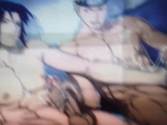 Naruto and Sasuke Cum Tribute
