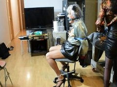 Ronni Endures Breath Play & Garroting by Stephanie Lorain