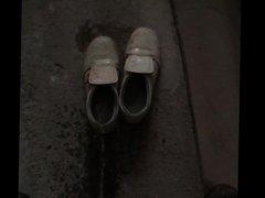 Sulle scarpe della mia collega