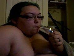 smoking blowjob POV