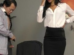 New Boss Miss Vendetti Makes Him Kiss Her Ass - Gia Vendetti - Femdom