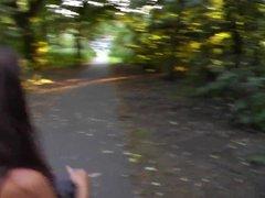 Fun in a public park