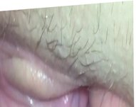 Fingering and Licking wifes pussy close up asshole