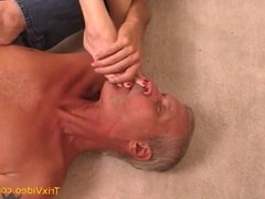 Daddy LOVES our TEEN FEET