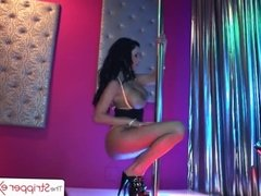 The Stripper Experience - Sexy Peta Jensen sucking a big dick, big booty