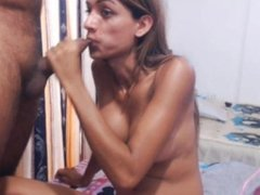 Horny Shemale Gets Nailed Hard by her Boyfriend