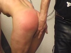 Horny amateur couple gets horny punishment by their master