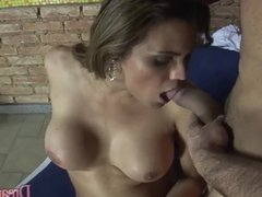 Tranny Nicole Marques Gets an Ass Fuck