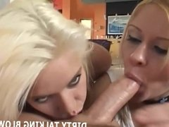 We will talk dirty while we suck your big hard cock JOI