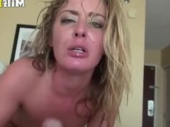 SUPER HOT BUSTY MILF FUCKED HARD AND DEEP AT HOME