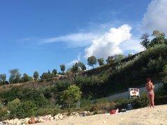 Amateur Voyeur Beach