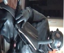 Cock play in rubber.