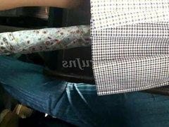 Upskirts Bajo la falda chica de secundaria calzon azul Prt 2
