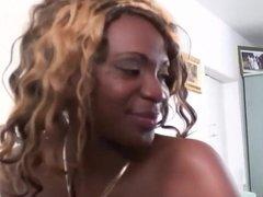 French Ebony Babe With Nice Tits
