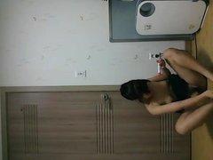 Cute Korean Girl show her hot body 41