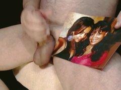 Tribute for Megzman9 - two horny girls begging for cum