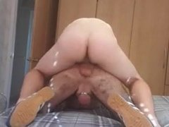 Hot rough bareback pounding