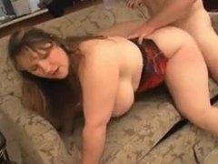 cum on her big tits