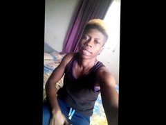 whatsapp ugly nigerian tomboy with big saggy tits