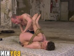 Sean Taylor dominates sub young gay with toys and cock
