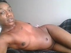 Butch Slim Ebony Webcam Lesbian Fingers Ass and Pussy