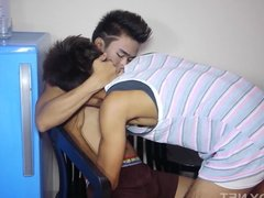 Asian Twinks Dave and Johnson Bareback