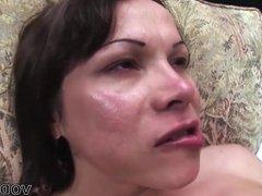Mireya Rinaldi fucks a white stud