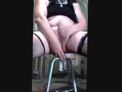 Nun Crossdresser masturbing 04Ago2018