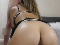 Sexy Amateur Girlfriend Face Fucked, Fucked Doggy and Cum All Over Her Body