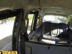 Fake Taxi Horny mysterious Masked Maya returns for big taxi